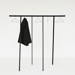 Clothing Rack Wardrobe | Black