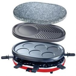 4 in 1 Raclette RP412 | 8 Persons