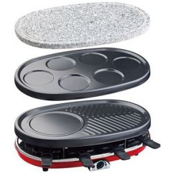 4 in 1 Raclette RP418 | 8 Persons