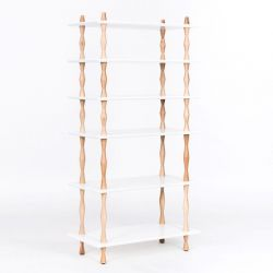 Bookshelf KORRO | White