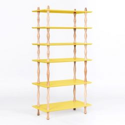 Bookshelf KORRO | Yellow