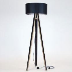 Lamp Wanda | Black (with Black Legs)