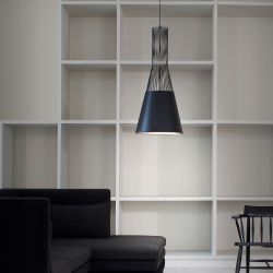Suspension Lamp Raio | Black