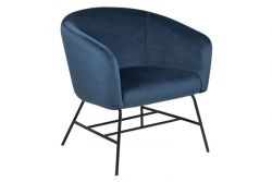 Resting Chair Rolf | Navy Blue