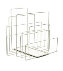 Magazine Holder Random | White