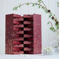 Weinkaugummi-Adventskalender 2019 24 Schubladen | Bordeaux