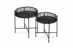 Table d'Appoint Corfu | Set de 2