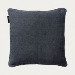Raw cushion cover | Dark Charcoal Grey