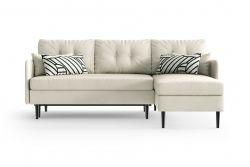Right Corner Sofa Bed Memphis | White