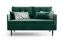 2-Sitzer-Sofa Memphis | Smaragdgrün
