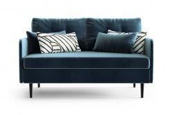 2-Sitzer-Sofa Memphis | Marineblau