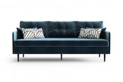 3-Sitzer-Sofa Memphis | Marineblau