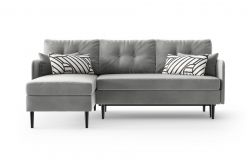 Left Corner Sofa Bed Memphis | Grey