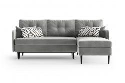 Right Corner Sofa Bed Memphis | Grey