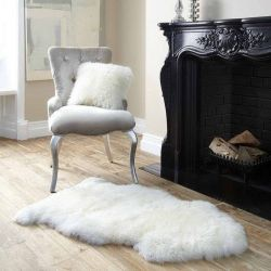 New Zealand Sheepskin Pelt | White