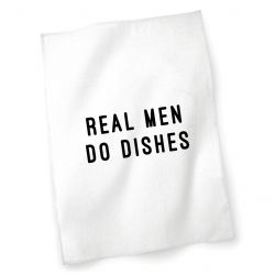 Tea Towel | Real Men Do Dishes