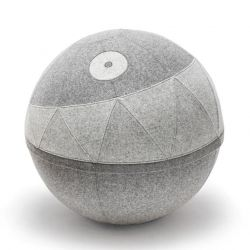 Pouffe Rollo Rebel | Stone