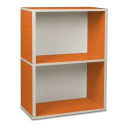 Storage Rectangle Box 2 Orange