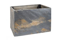 Slate Planter Recto 60 | Rusty