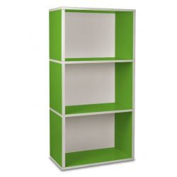 Rectangle Plus 3 Boekenkast | Groen