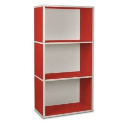 Etagère Rectangle Plus 3 | Rouge