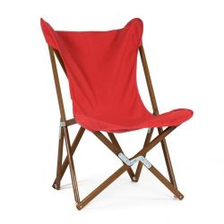 Tripolina Lounge Chair | Red