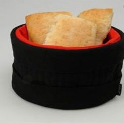 Heated Bread Basket Black/Red