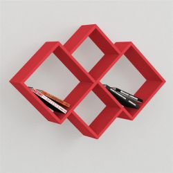Oyo Book Shelf Red