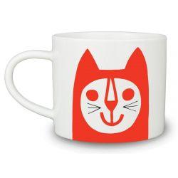 Mugs Red Cat | Set of 6