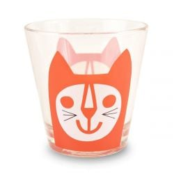 Glasses Red Cat | Set of 6