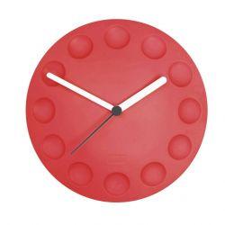 Fridge Clock Red