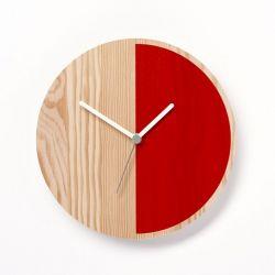 Horloge Primary Half | Rouge