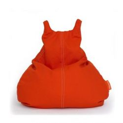 HappyCat Bean Bag Cotton Canvas Small | Red