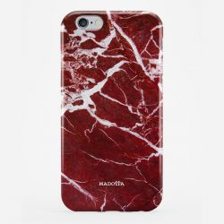 Coque Smartphone Marbre | Red Wine