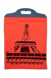 Handbag Eiffel Orange