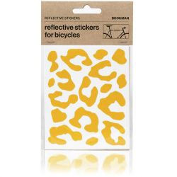 Reflective Stickers Leopard | Yellow