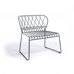 Reso Lounge Chair | Black
