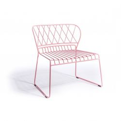 Reso Lounge Chair | Pink