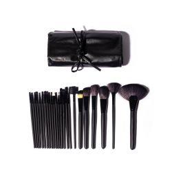 Set of 24 Make-up  Brushes | Black