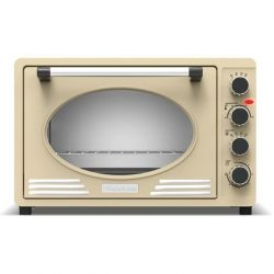 Retro Style Electric Oven TT-EV45R | Cream