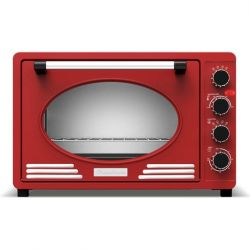 Retro Style Electric Oven TT-EV45R | Red