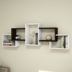 Shelf Berril | White & Wenge