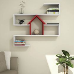 Shelf Nest | White & Red
