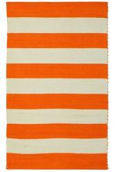 Wendbare Teppichstange | Grau & Orange