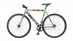 Bike Sticker | Micro Stripes