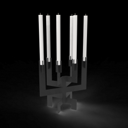 Candle Holder °01 | Black