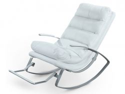 Rocking Armchair Rockport | White