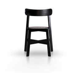 Chair Roda | Black Stained Ash Wood