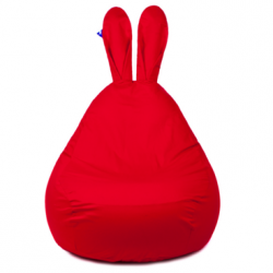 Grand Pouf gonflable | Rouge