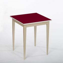 Bennie Coffee Table | Wine Red
